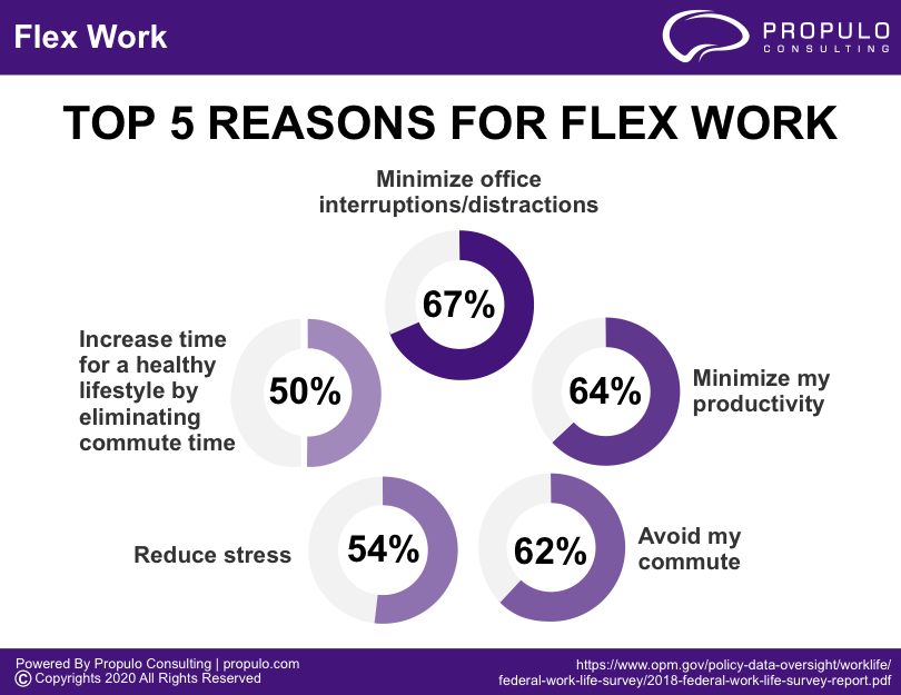 Flex work Infographics by propulo