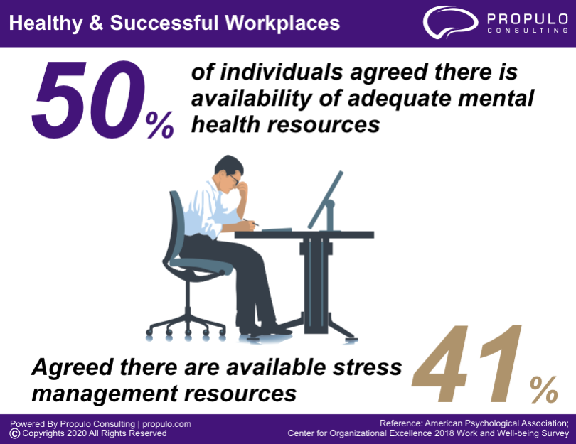 Healthy and Successful workplace Infographics by propulo