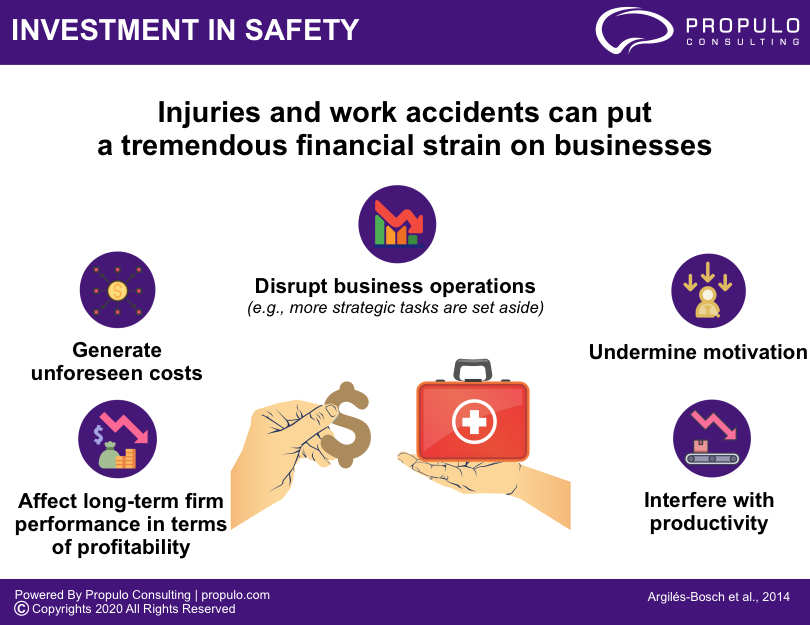 Investment in Safety Infographics by Propulo