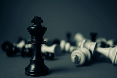 chess pieces; is workplace competition healthy, like competition in chess?
