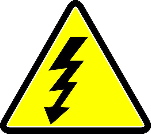 electricity sign shocking power of leadership