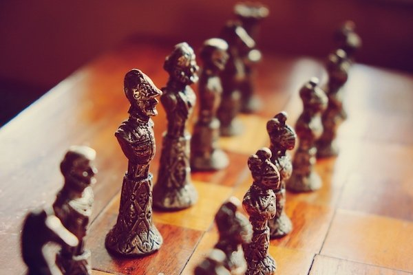 Process improvement projects succeed through proper strategy, like in chess