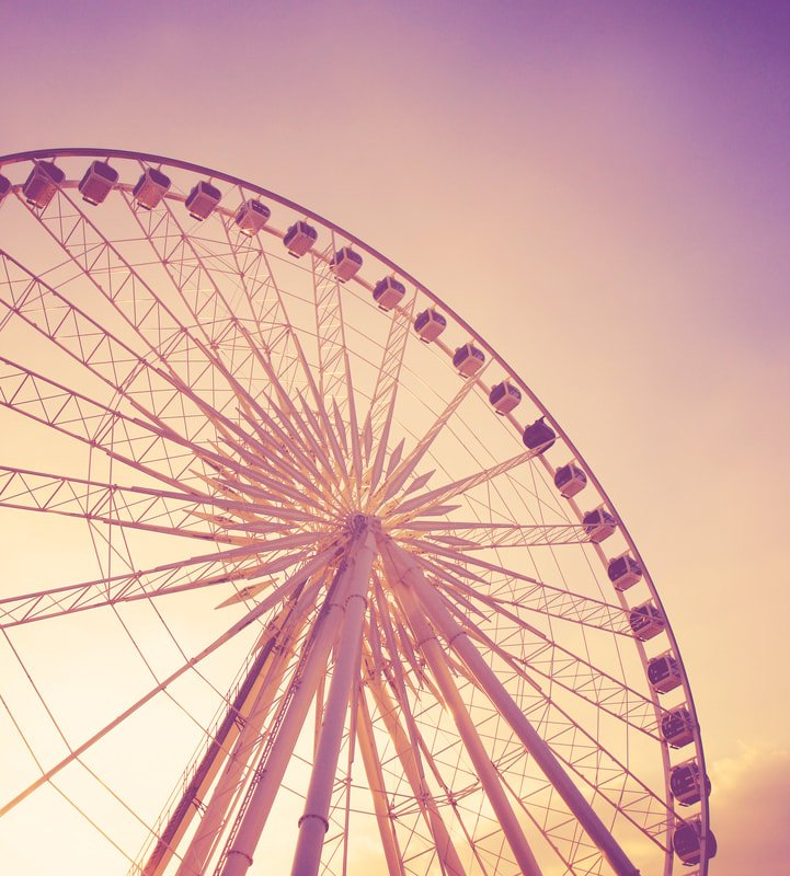 Ferris wheel; the last few months have been like a roller coaster, but now it's time to make a safe return to work